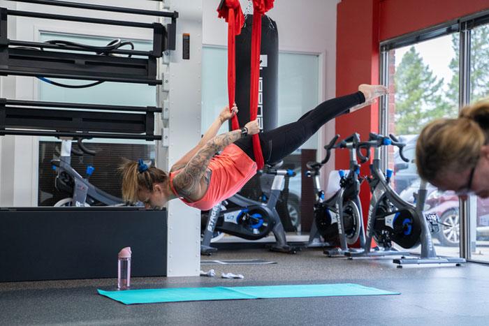 Aerial Yoga | SVAC Classes